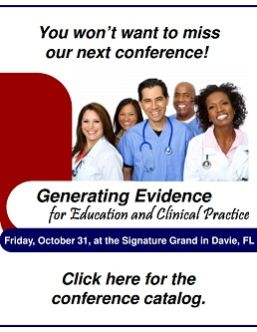 Generating Evidence for Education and Clinical Practice